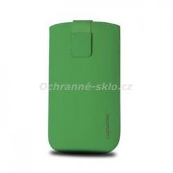 Univerzální pouzdro Redpoint Velvet, mikroplyš, zelené, velikost XXL