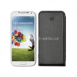 Pouzdro typu flap CELLY FACE pro Samsung Galaxy S4, PU kůže, černé