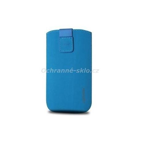 Univerzální pouzdro Redpoint Velvet, mikroplyš, modré, velikost XXL
