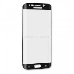 Ochranné tvrzené sklo Premium Glass na Samsung G928 Galaxy S6 EDGE+  černé