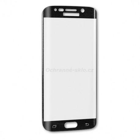Ochranné tvrzené sklo Premium Glass na Samsung G925 Galaxy S6 EDGE  černé