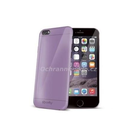 TPU pouzdro CELLY Gelskin pro Apple iPhone 6/6S, fialové