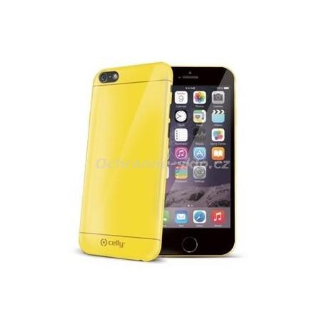 TPU pouzdro CELLY Gelskin pro Apple iPhone 6/6S, žluté