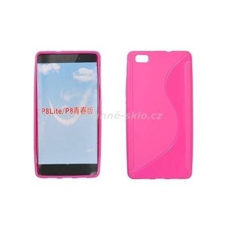 Pouzdro S-CASE HUAWEI P8 Lite Pink