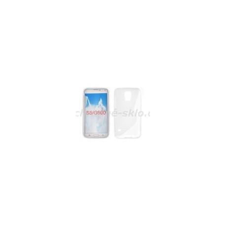 Pouzdro S-CASE SAMSUNG G900 GALAXY s5, transparentní