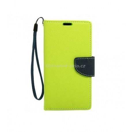 Pouzdro Fancy Case Samsung I8190 / Galaxy S3 Mini, limetkové