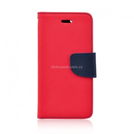 Pouzdro Fancy Case Samsung G925 / Galaxy S6 EDGE, červené
